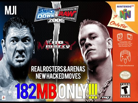 WWF No Mercy 2K15 Aki Mod- Android | FunnyCat TV