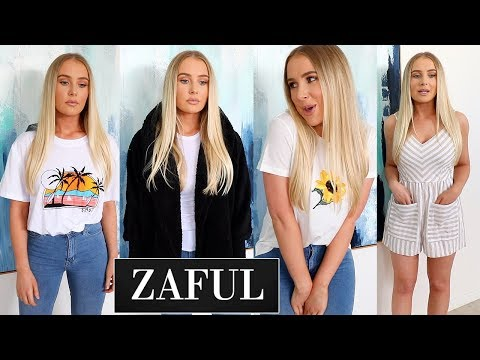 Huge ZAFUL Clothing Try On Haul!