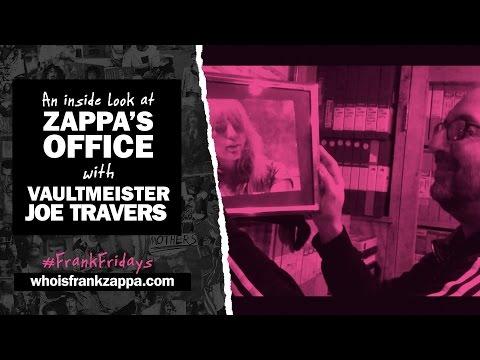 FRANK FRIDAYS: A Look around Zappa's Office with Vaultmeister Joe