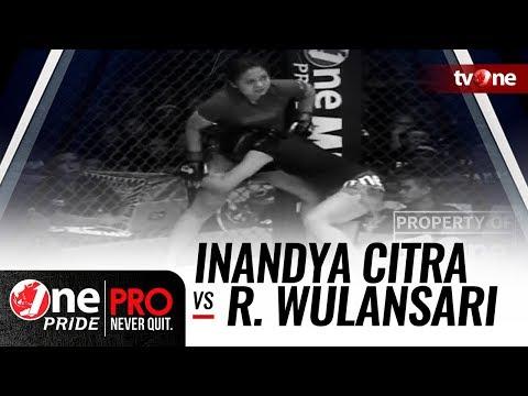 Inandya Citra vs Rita Wulansari - One Pride MMA #14