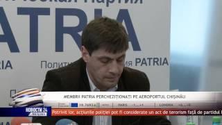 Membrii echipei lui Renato Usatîi, percheziționați ilegal pe Aeroport (Reportaj REN TV) 08.12.14