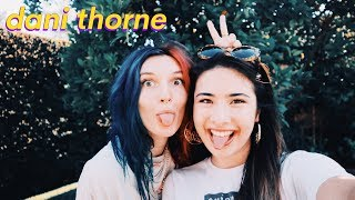 DANI THORNE (COM3T) Interview- sister Bella Thorne, making EDM, family, merch, new music