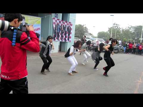[HD][Vietnam Red Ocean Project][Street Dance]TVXQ's title song dance collection