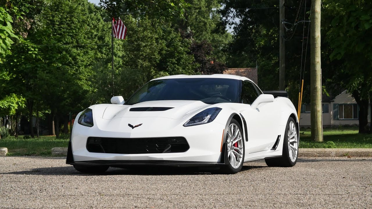 New Corvette 2018 >> 2019 Chevy Corvette Z06: Hardcore Hero - YouTube