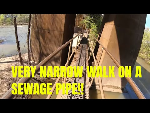 James River Pipeline Walkway In Richmond, Virginia- SHOT WITH GOPRO HERO 7