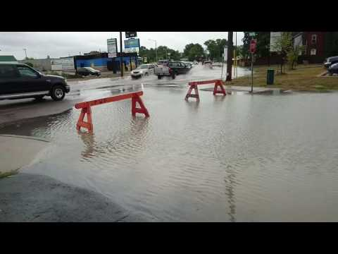 Flood in Orillia