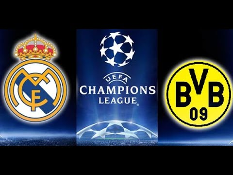real madrid vs borussia dortmund 3-0 'First Half'