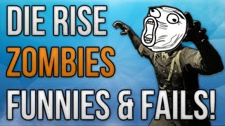 BO2: Funnies and Fails Episode 8! (Die Rise Zombies)