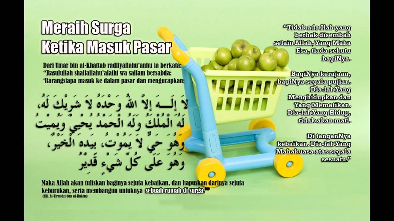 Image result for doa masuk pasar
