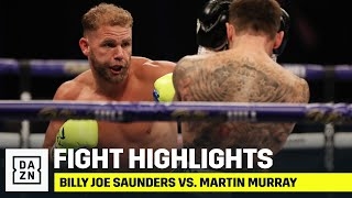HIGHLIGHTS | Billy Joe Saunders vs. Martin Murray