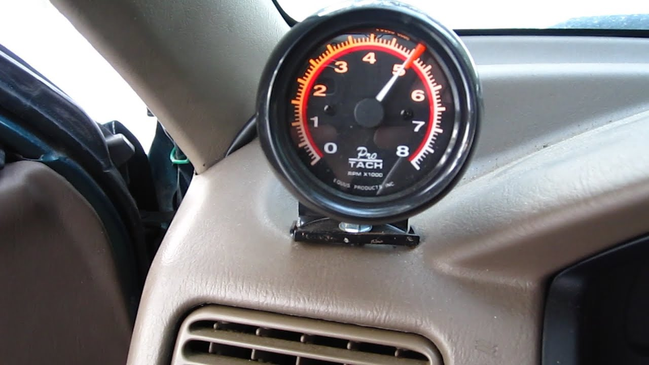 How To: Install Tachometer On Any Vehicle  YouTube
