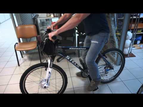 Электровелосипед на базе велосипеда Stels Navigator 730 (2013)