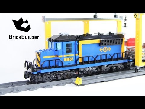 Lego City 60052 Cargo Train - Lego Speed Build - YouTube