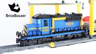 Lego City 60052 Cargo Train build and review