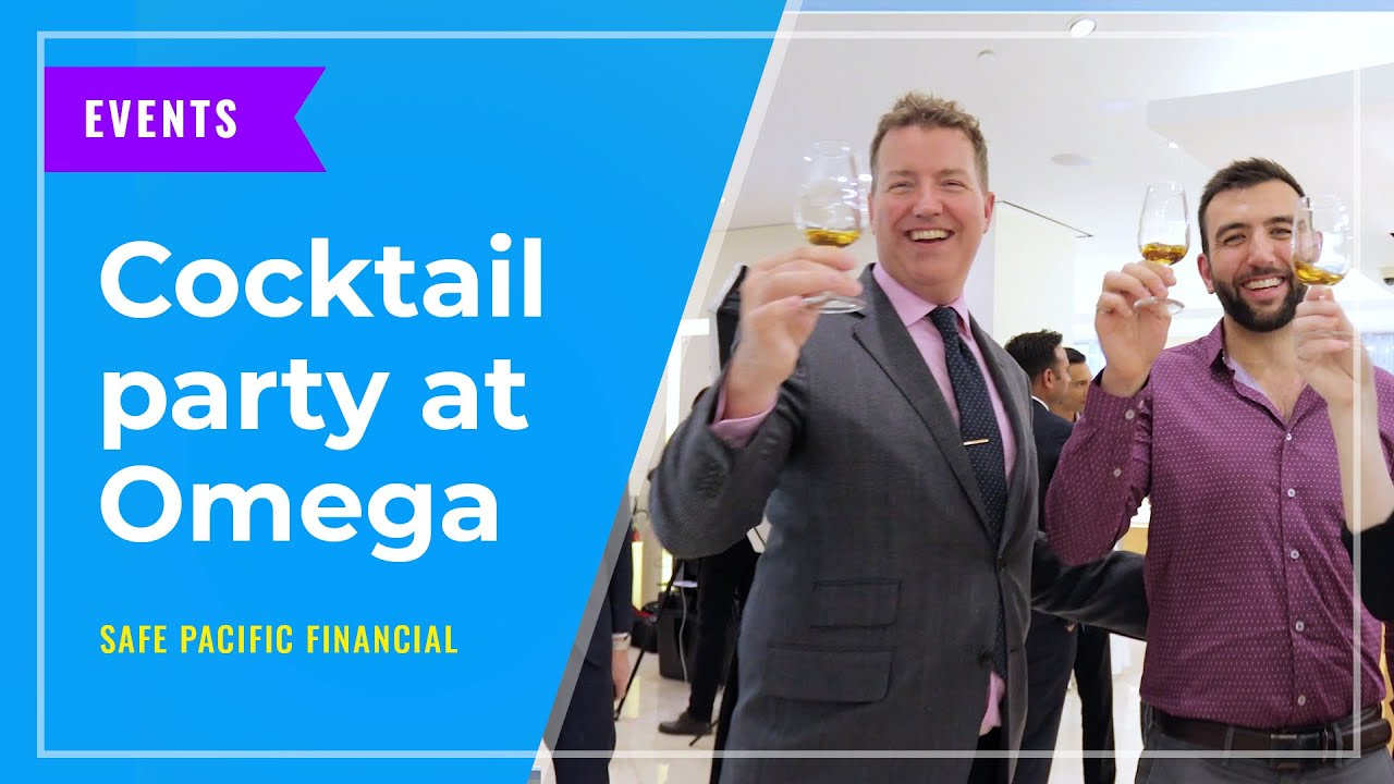 EVENTS: Cocktail party at Omega