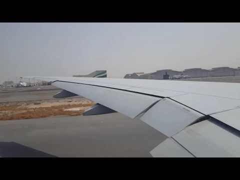 Emirates Airline B777-300ER Dubai to Lusaka