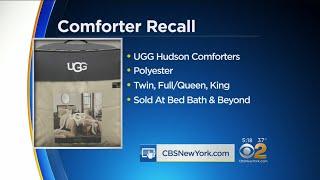 UGG Comforters Recalled