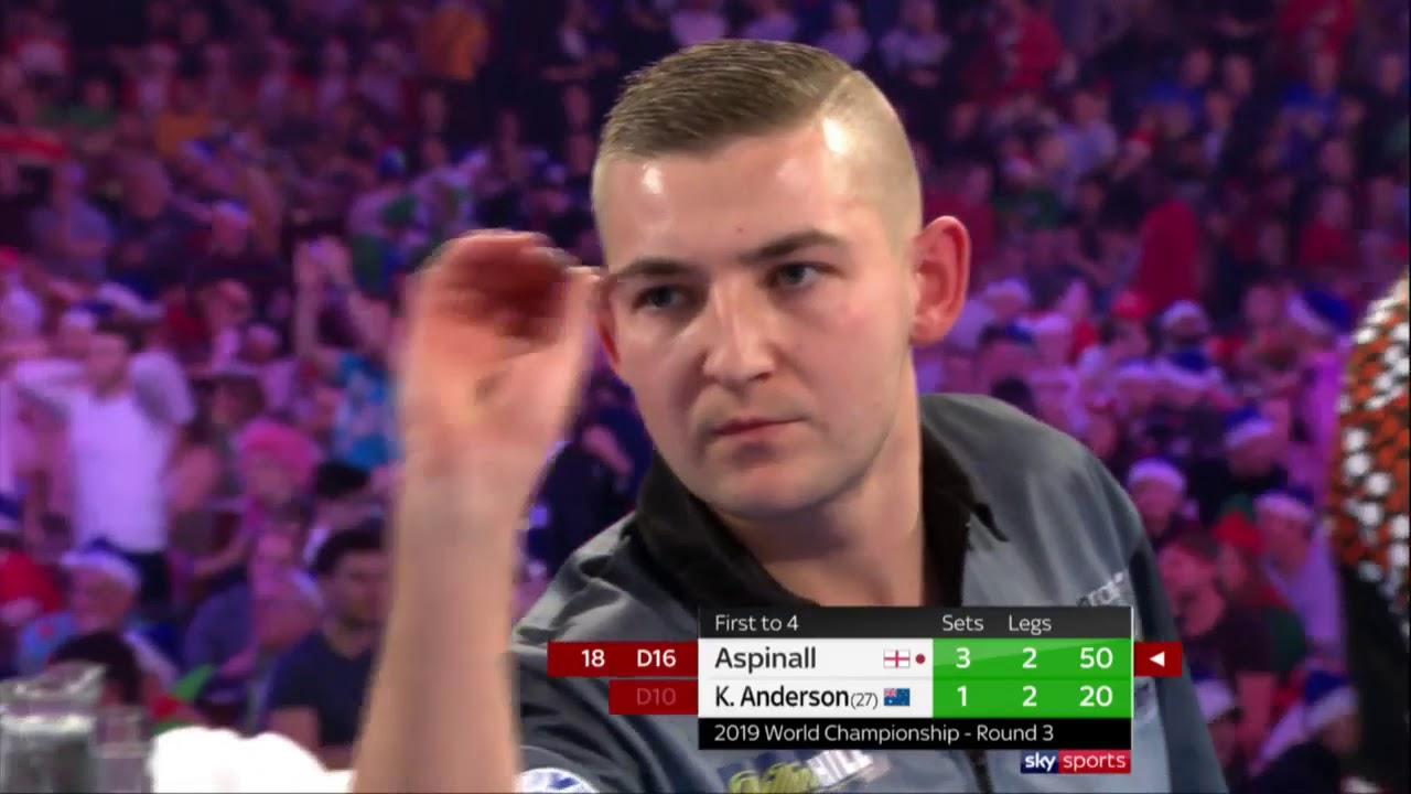 Aspinall into 4th Round | 2018/19 William Hill World Darts Championship