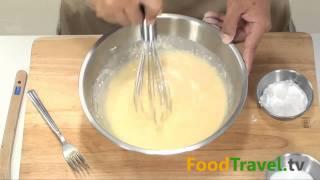 Repeat youtube video การทำแป้งเครป Crepe