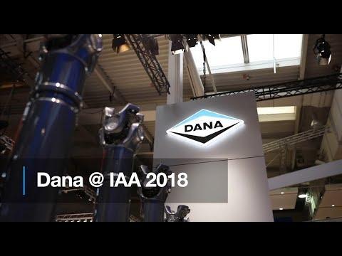 Dana goes electric at IAA 2018