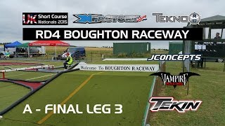 RD4 BOUGHTON RACEWAY   A FINAL 3rd Leg   TEKNO SCT410 3 UK Short Course Nationals