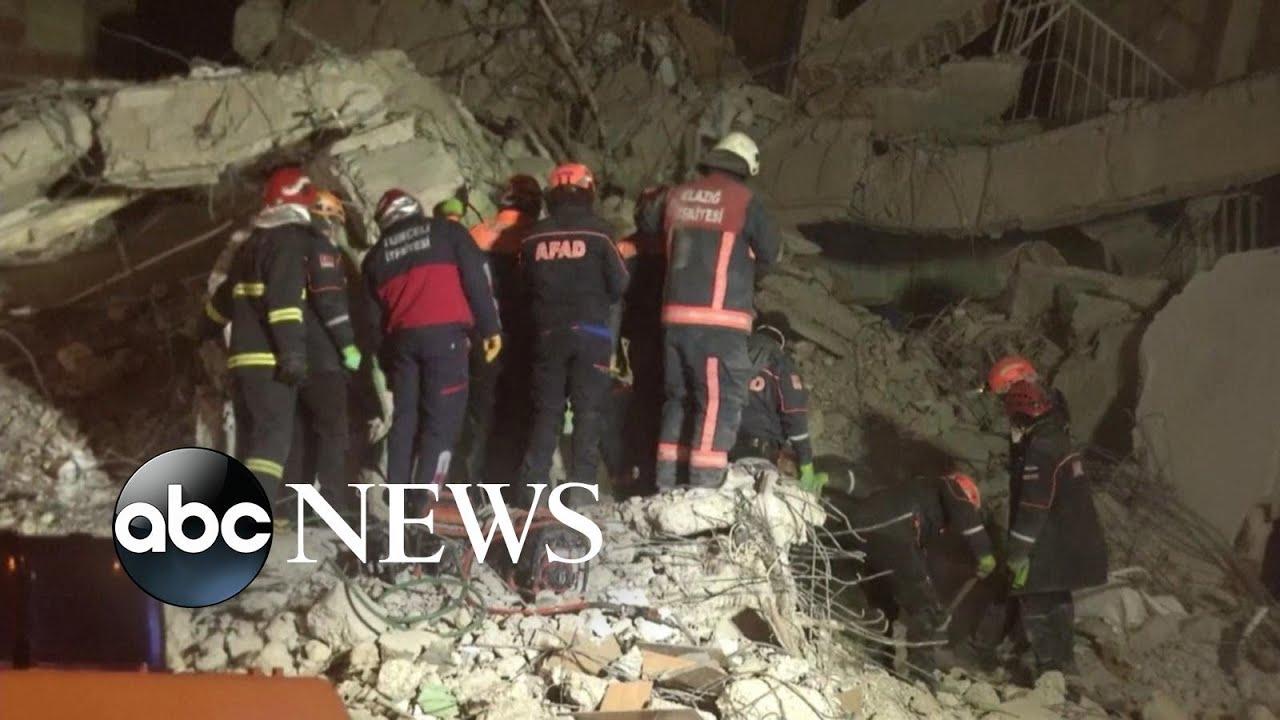 5.4-magnitude earthquake hits eastern Turkey; 5 injured