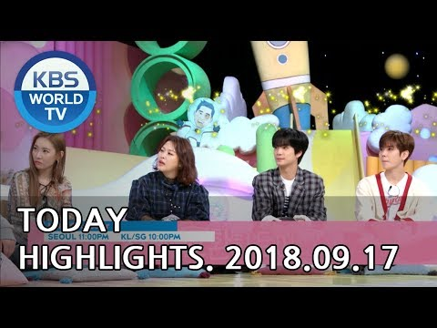 Today Highlights-Love To The End(R)/Sunny Again Tomorrow(R)/Hello Counselor[2018.09.17]