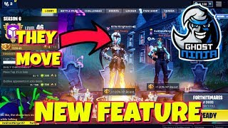 NEW FEATURES *SKINS NOW TALK* IN FORTNITE WITH GHOSTNINJA