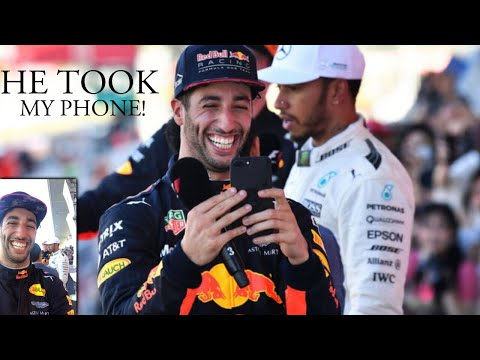 When Daniel Ricciardo Took My Phone! 😂 Suzuka Grand Prix Japan | Lewis Hamilton Vlogs