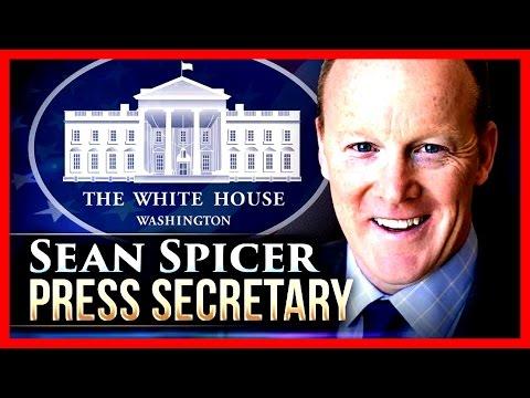 OWNS IT: Donald Trump Press Secretary Sean Spicer Press Briefing Conference 4/3/2017 TRUMP LIVE