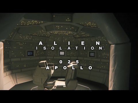 Alien Isolation 025 ▶ APOLLO | Let's Play Alien Isolation