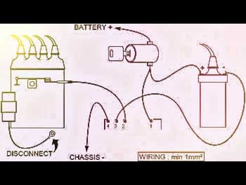 hqdefault transistor ignition electronic transistor youtube lumenition ignition wiring diagram at love-stories.co