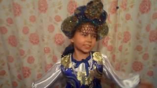 Русский народный костюм для девочки.