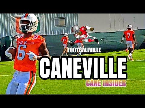 Miami Hurricanes Football practice | Aug 23 | Caneville