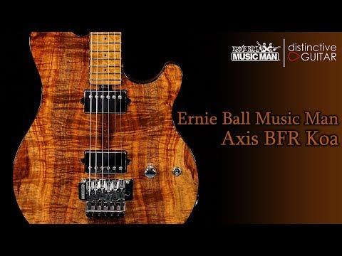 Ernie Ball Music Man Axis | BFR Koa Top Limited Edition
