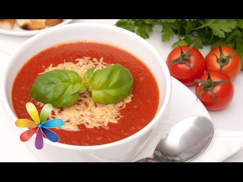 Томатный суп с морепродуктами итальянский томатный суп