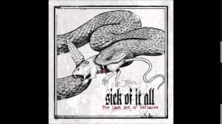 Sick of it all  -  With All Disrespect