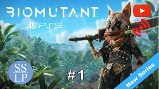 First Look   BioMutant Let's Play Hard   PS5 Live #1