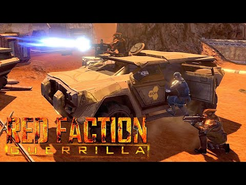 RED FACTION GUERRILLA NPC Wars 2 (Red Faction vs Earth Defense Force)  