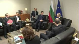 With the President of Bulgaria