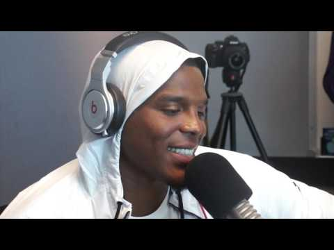 Cam Newton Talks Being A Father, Meeting The Obamas, & Nickelodeon Show