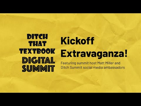 The 2020 Ditch Summit Kickoff Extravaganza!
