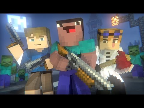 Blocking Dead: FULL ANIMATION (Minecraft Animation) [Hypixel] - Видео из Майнкрафт (Minecraft)