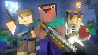 видео: Blocking Dead: FULL ANIMATION (Minecraft Animation) [Hypixel]