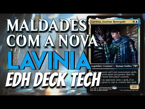 Lavinia, Renegada Azorius - UW Prison | Commander/EDH Deck Tech
