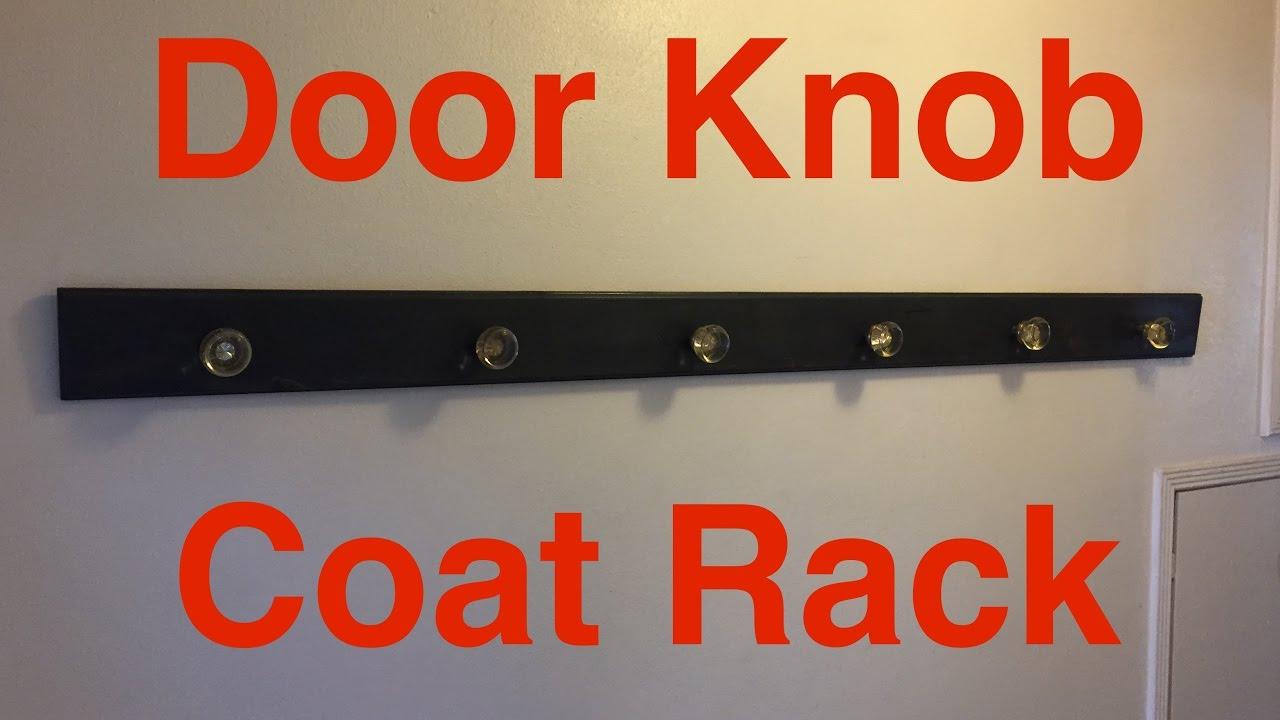 Door Knob Coat Rack! - YouTube