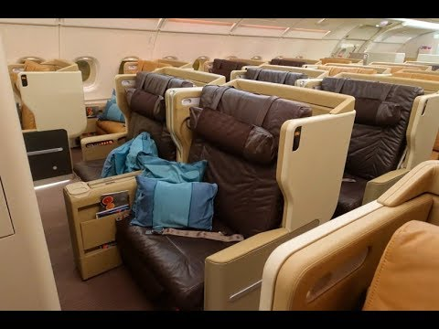 Singapore Airlines A380-800 Business class Singapore to Paris SQ336 (flight review #31)