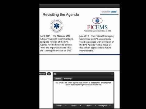 EMS Past, Present and Future: Writing the Next Agenda