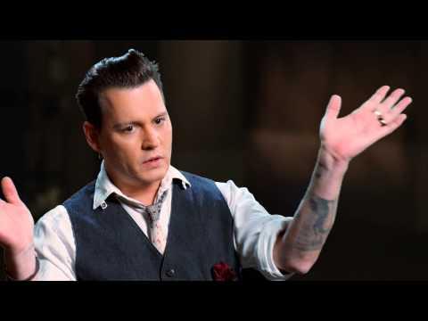 "Black Mass: Johnny Depp ""James Whitey Bulger"" Behind the Scenes Movie Interview"