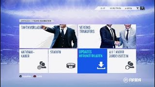 FIFA 19 Kader aktualisieren Update neue Transfers Let's Play FIFA 19